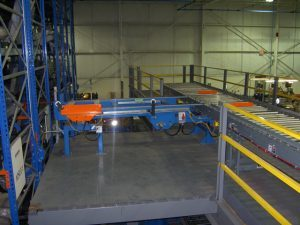 Overhead Pallet Storage Conveyor and Lift System