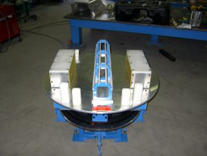 Telescopic Heat Shield Installation Table